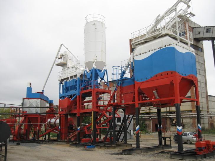 Асфальтосмесительная установка РТ-60, производительностью 60 тонн в час