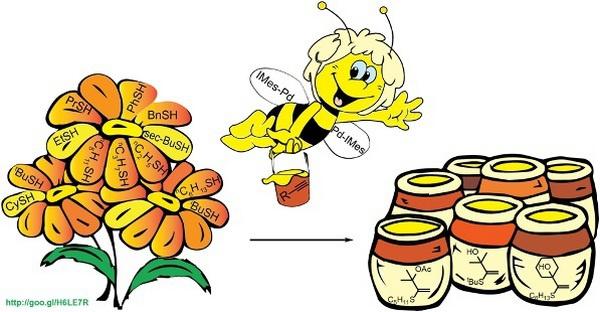Правильный катализатор позволят собрать урожай даже из молекул тиолов