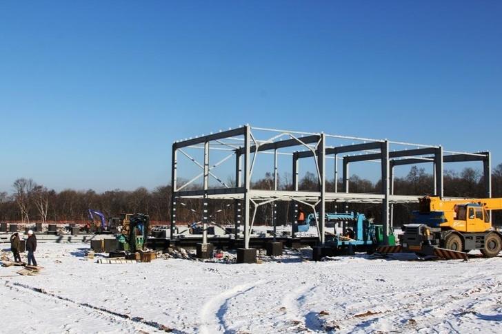 Завод по утилизации автомобилей «Терминатор» начали возводить в Приморье