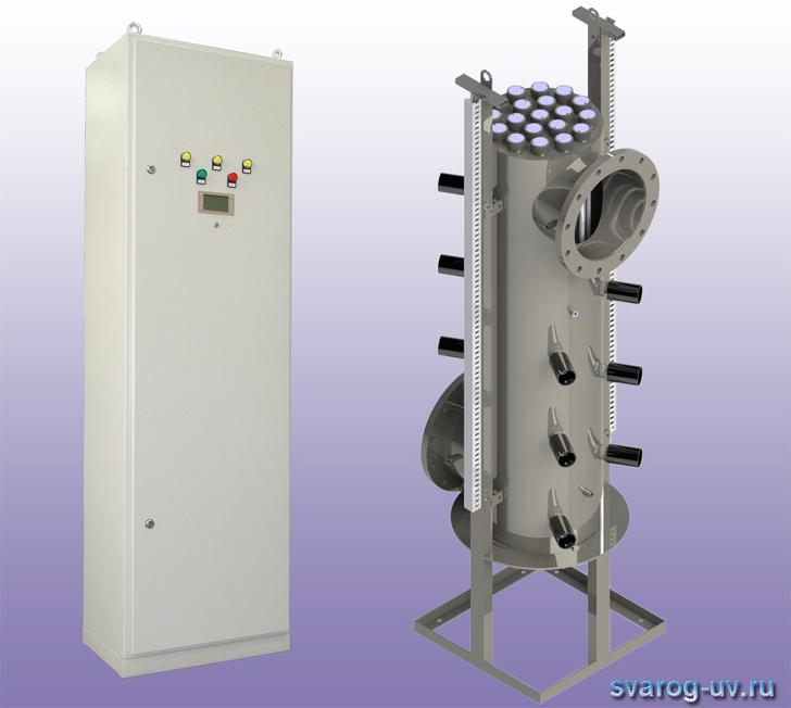 Разработана серия установок «Лазурь» в вертикальном исполнении на различную производительность