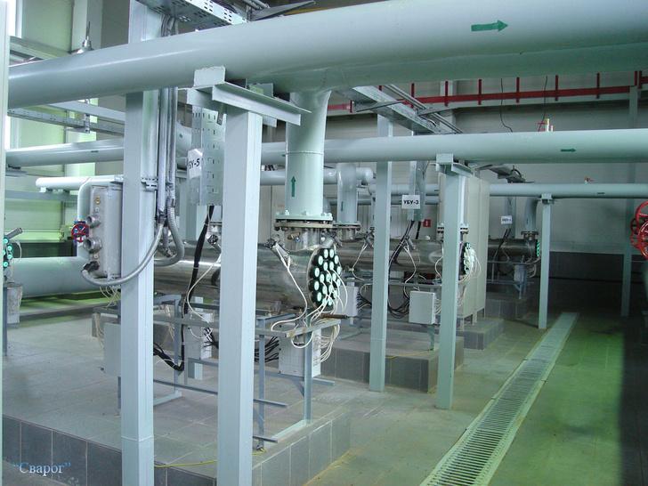 Станция обеззараживания воды в Перми, производительностью 4000 кубических метров в час.