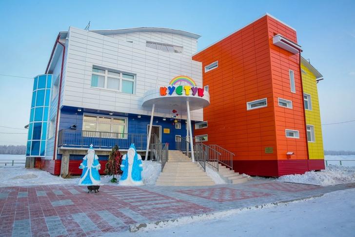 детский сад в якутском селе Телей-Диринг