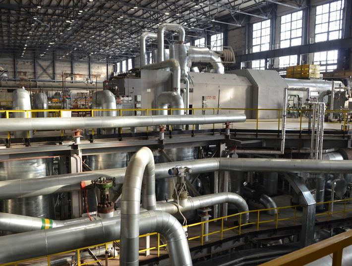 На крупнейшей газовой теплоэлектростанции в Омской области запущена новая паровая турбина