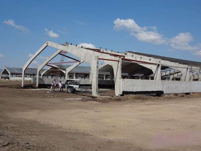 строительство комплекса (2012 год)