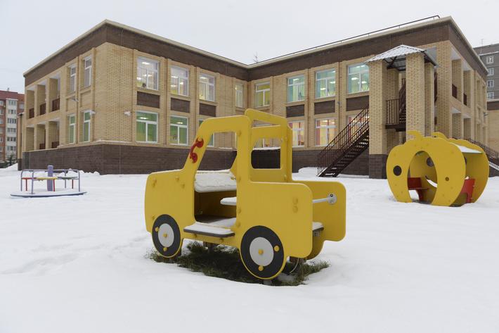 новый детский сад на 160 мест
