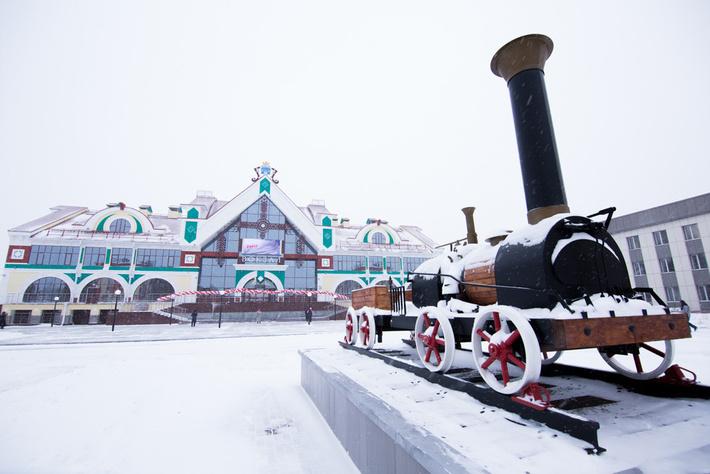 фото вокзал белово