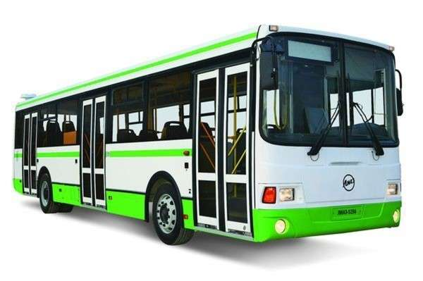 Схема маршрута автобусов караганда