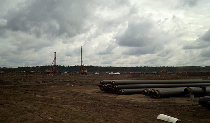 строительство комплекса 15 сентября 2016 г.