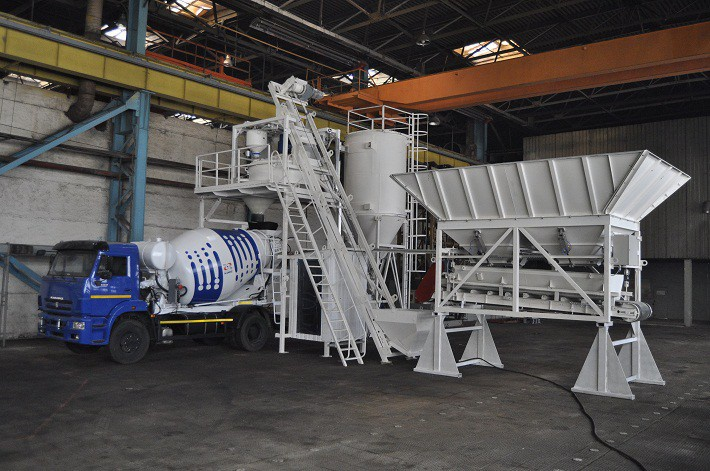 Туймазинский завод запустил в производство мобильные бетонные заводы модели «Гранит-42».