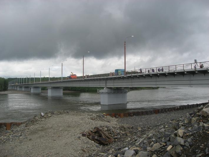мост через р. Селемджа