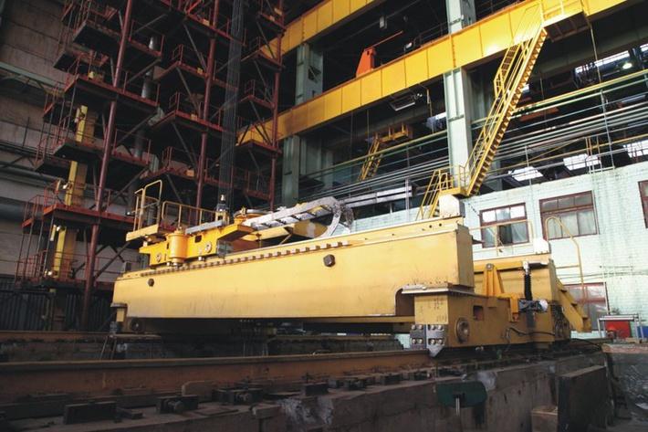 перегрузочная машина МПС-1200 для второго блока Нововоронежской АЭС-2 на Уралмашзаводе