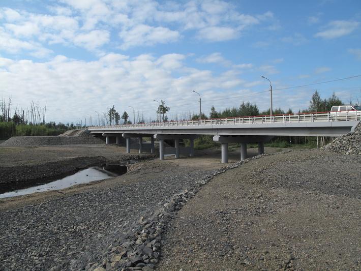 мост через р. Уликагут