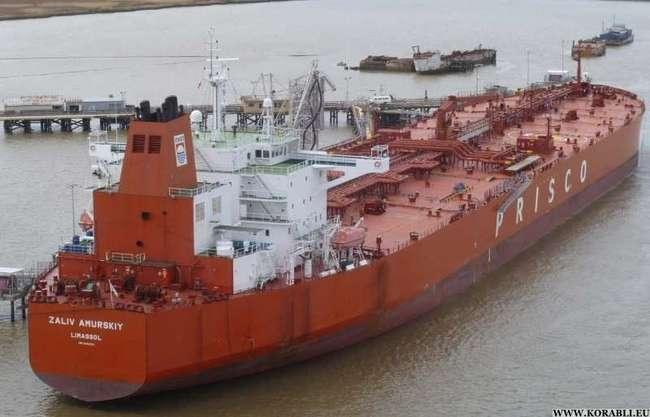 По Северному морскому пути впервые прошли два танкера-гиганта Приморского морского пароходства