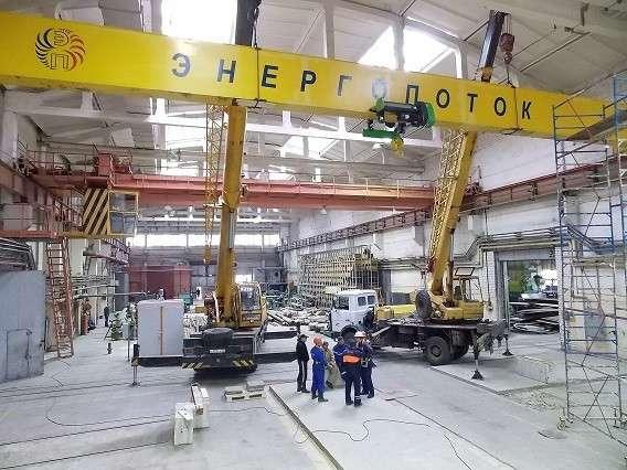 установка дополнительного крана грузоподъемностью 10 тонн