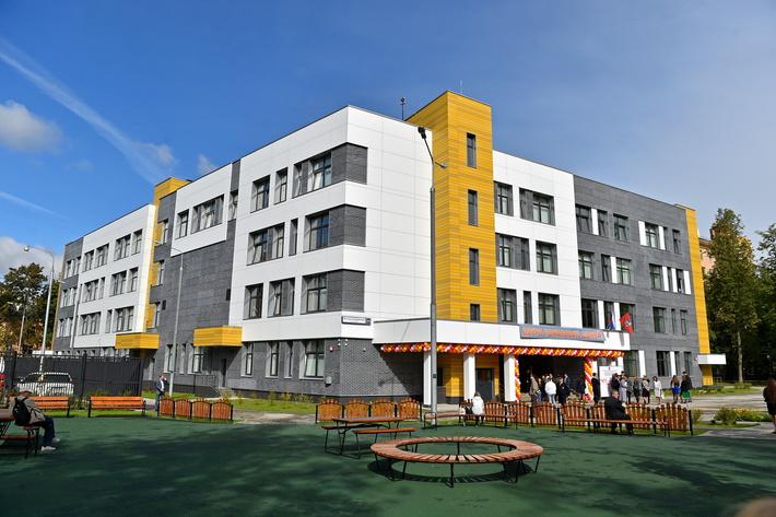 новая школа № 830 в Северо-Западном округе Москвы