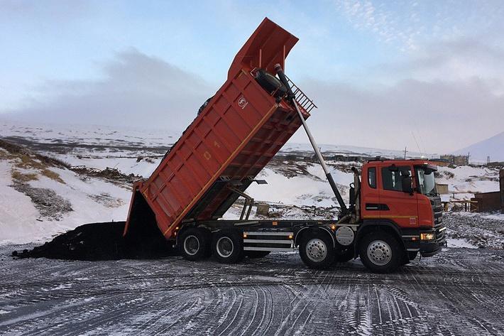 транспортировка угля на месторождении «Фандюшкинское поле»