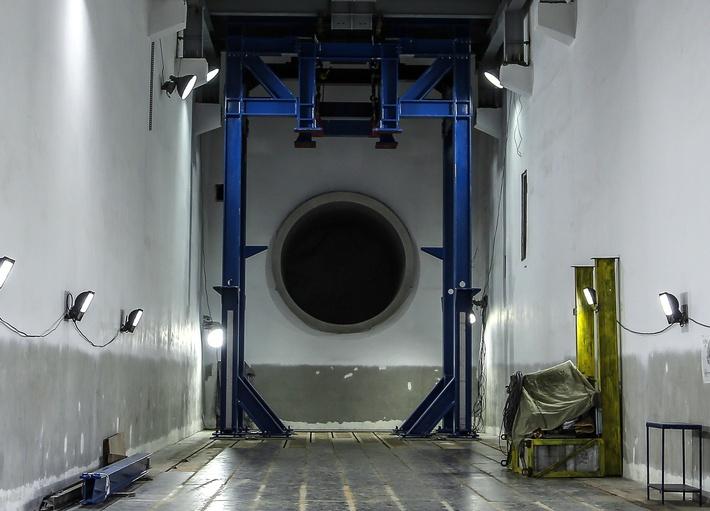 Завершен первый этап реконструкции испытательного стенда для авиадвигателей ПД-14