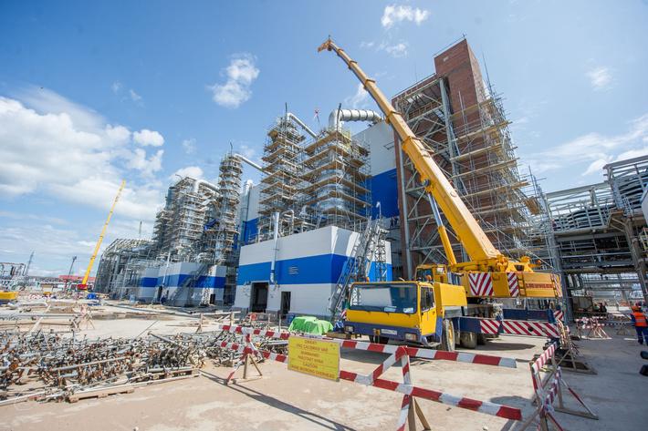 Фотообзор строительства нефтехимических предприятий. Любительская подборка