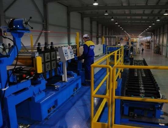 В Новосибирской области открыто новое производство стройматериалов