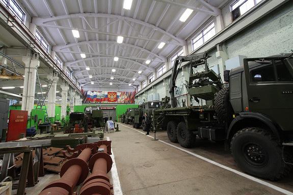 Екатеринбургская производственная площадка холдинга «Технодинамика»