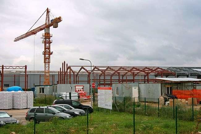 строительство нового цеха (2013 г.)