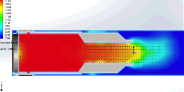 Газодинамический анализ ДТК.