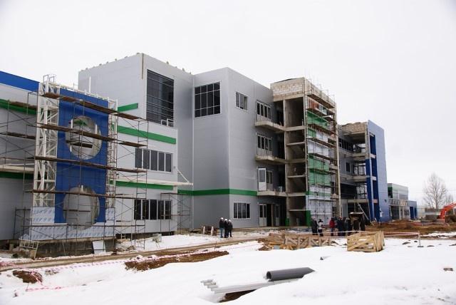 строительство завода (19 декабря 2013 г.)