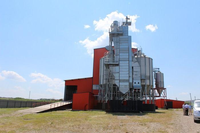 строительство завода 2015 год