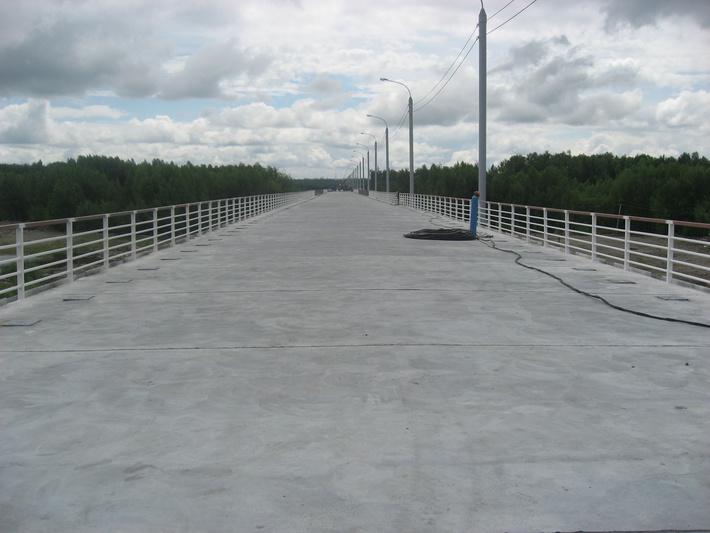 проезжая часть моста
