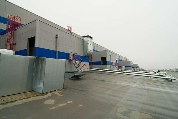 строительство завода (октябрь 2013 г.)