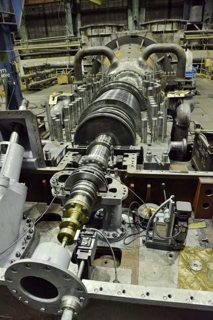стендовые испытания паровой турбины Т-120/130-130-8МО, изготовленной для Астанинской ТЭЦ-2