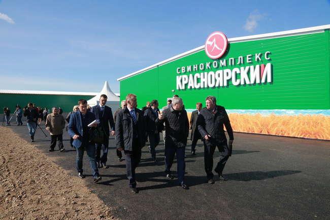 В Красноярском крае завершается строительство двух свинокомплексов