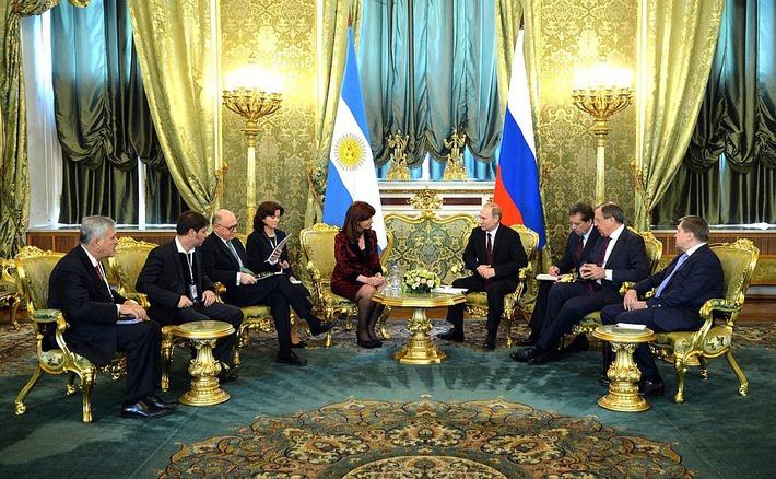 Rússia e Argentina: Parceria estratégica agora é global
