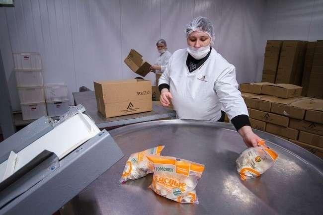 Томский мясокомбинат запустил уникальную линию по производству полуфабрикатов