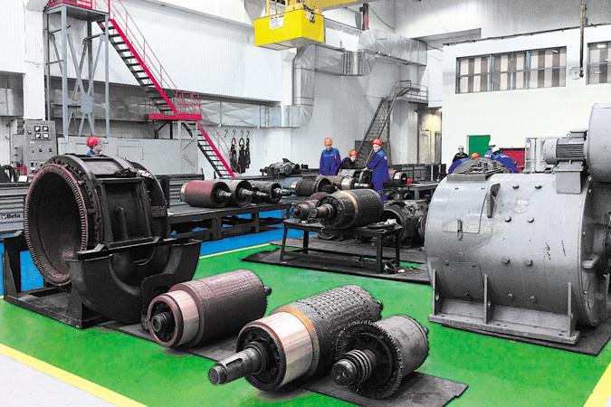 обновленный электро-ремонтный участок ООО «Бородинский РМЗ»