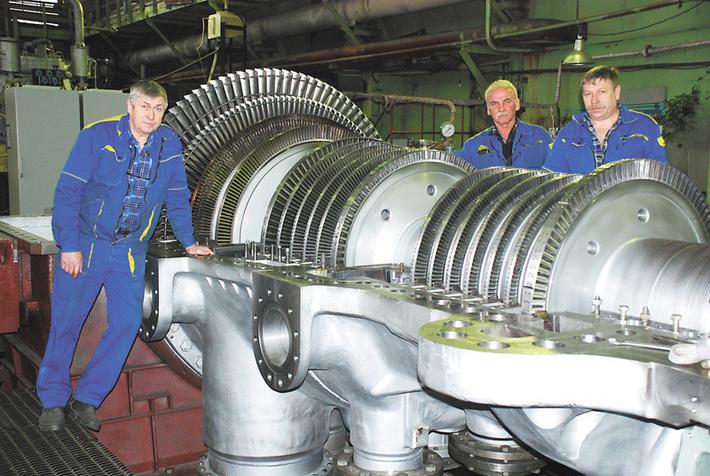 3000-я за всю историю существования завода турбина КТЗ