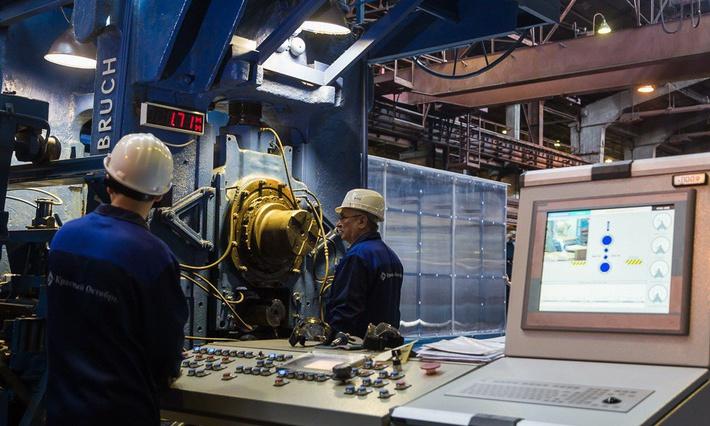 В Волгограде на заводе «Красный Октябрь» запущен стан холодной прокатки листа
