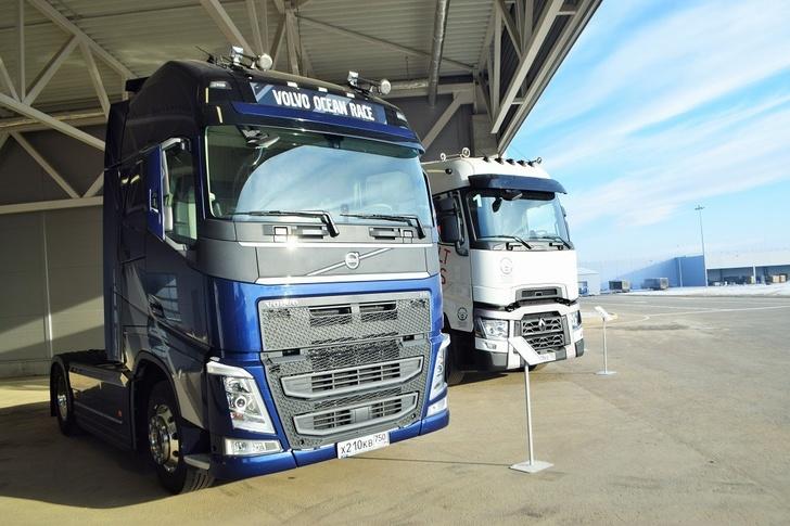 новые грузовые автомобили вольво с калуге