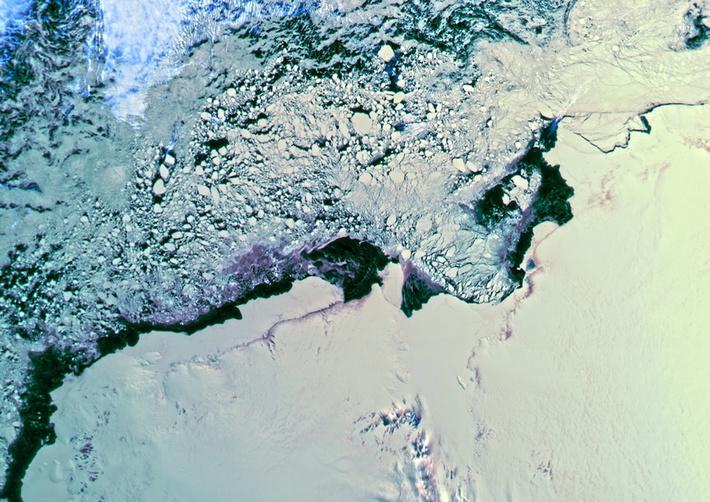 снимки поверхности Земли с помощью «Метеор-М»