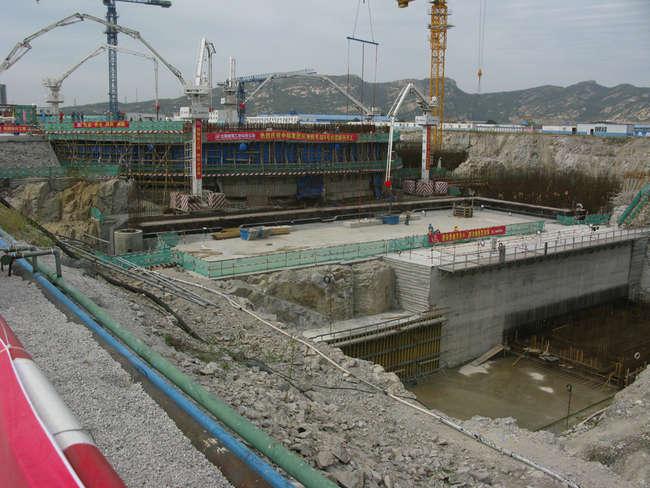 строительство энергоблока №4 второй очереди Тяньваньской АЭС