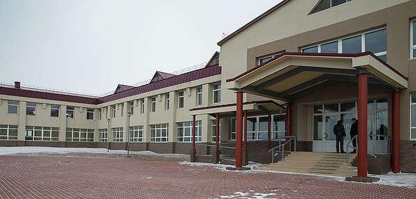 новый Дом культуры в Южно-Курильске (о. Кунашир)