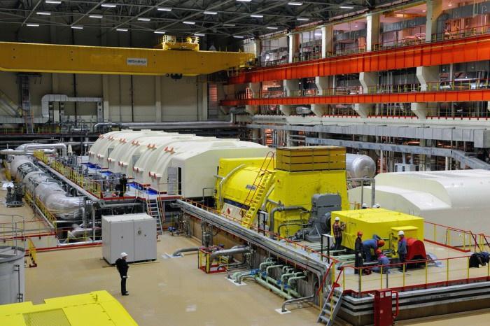 555 мегаватт электрической мощности выдал в энергосистему Урала энергоблок №4 с реактором БН-800