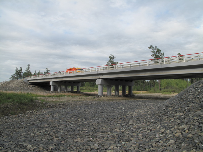 мост через р. Желтая