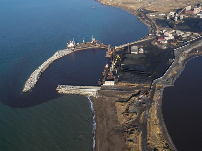 Порт Шахтерск в настоящее время