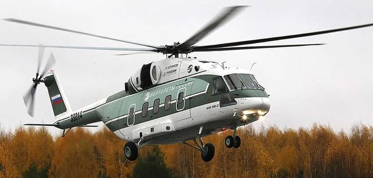 Серийное производство пяти средних Ми-38 запущено в Казани