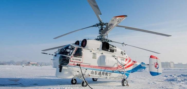 «Вертолеты России» передали китайской компании Jiangsu Baoli Aviation Equipment Investment Co., Ltd вертолеты Ка-32А11ВС