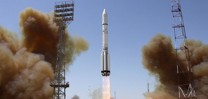 Запуск РН Протон-М
