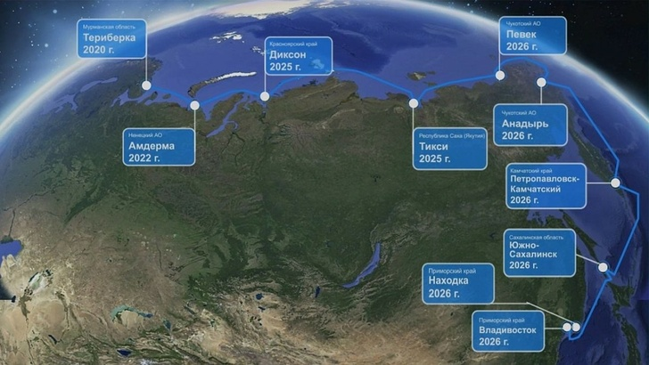 Полярный экспресс: началась укладка трансарктической оптоволоконной линии Мурманск - Владивосток