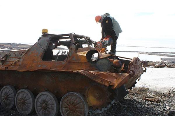 Военные экологи перевыполнили план по уборке мусора в Арктике
