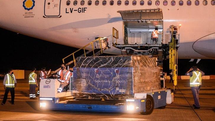 «Аэробус 330-200» «Аргентинских Авиалиний» прибыл в Буэнос-Айрес 1 марта